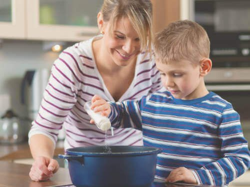Parental attunement to their child can be increased by viewing and discussing good moments of interaction, such as cooking together